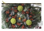 Williamsburg Wreath Squared Carry-all Pouch