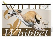 Willie The Whippet Carry-all Pouch by Liane Weyers