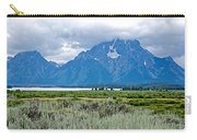 Willow Flats Overlook In Grand Teton National Park-wyoming   Carry-all Pouch
