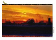 Willow Rd Sunset 2.27.2014 Carry-all Pouch