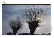 Willow Trees In Winter Carry-all Pouch
