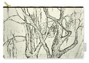 Willows By The Lake Carry-all Pouch