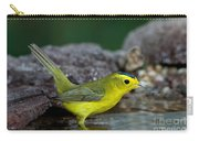 Wilsons Warbler Wilsonia Pusilla Carry-all Pouch