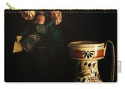 Wilted Roses With Italian Vase Carry-all Pouch by Silvia Ganora