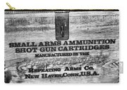 Winchester In Black And White Carry-all Pouch