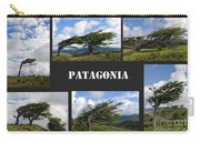 Wind-bent Flag Trees In Tierra Del Fuego Carry-all Pouch