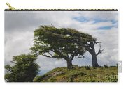 Wind-bent Trees In Tierra Del Fuego Carry-all Pouch