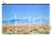 Wind Farm Palm Springs Carry-all Pouch