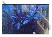 Wind In The Grass - Blue Carry-all Pouch