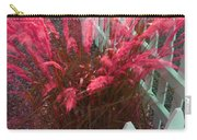 Wind In The Grass - Red Carry-all Pouch