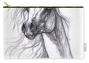 Wind In The Mane 2 Carry-all Pouch by Angel  Tarantella
