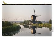 Wind Mill On A Canal, Holland Carry-all Pouch