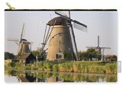 Wind Mills Next To Canal, Holland Carry-all Pouch