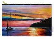 Wind Of Hope - Palette Knife Oil Painting On Canvas By Leonid Afremov Carry-all Pouch