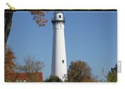 Wind Point Lighthouse 74 Carry-all Pouch
