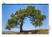 Lonesome Pine Tree Carry-all Pouch