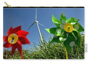 Wind Turbines And Toys Carry-all Pouch