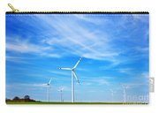 Wind Turbines Farm Carry-all Pouch