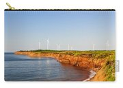 Wind Turbines On Atlantic Coast Carry-all Pouch by Elena Elisseeva