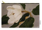 Windblown Magnolia Carry-all Pouch