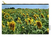 Windblown Sunflowers Carry-all Pouch