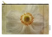 Windflower Textures Carry-all Pouch