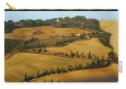 Winding Road And Cypress Trees In Tuscany 1 Carry-all Pouch