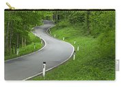 Winding Road In The Woods Carry-all Pouch
