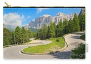 Winding Road To Pordoi Pass Carry-all Pouch