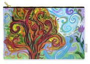 Winding Tree Carry-all Pouch by Genevieve Esson