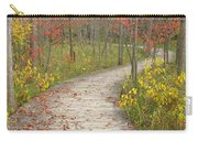 Winding Woods Walk Carry-all Pouch