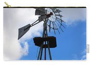 Windmill And Sky Carry-all Pouch
