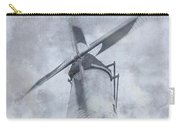 Windmill At Damme In Belgium Countryside Carry-all Pouch