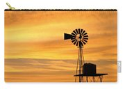Windmill At Dawn 2008 Carry-all Pouch