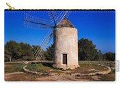 Windmill In El Pilar De La Mola On Formentera Carry-all Pouch