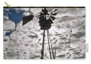 Windmill In The Clouds Carry-all Pouch