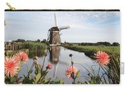 Windmill Landscape In Holland Carry-all Pouch