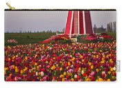 Windmill Of Flowers Carry-all Pouch