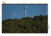Windmill On A Mountain Carry-all Pouch