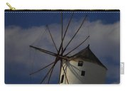 Windmill On Santorini Island  Carry-all Pouch