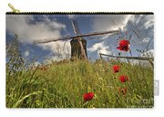 Windmill Poppies  Carry-all Pouch