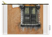 Window In Verona Poster Carry-all Pouch