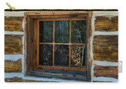 Window Reflection Carry-all Pouch by Paul Freidlund