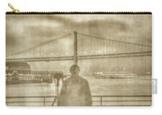 window self-portrait Embarcadero San Francisco Carry-all Pouch