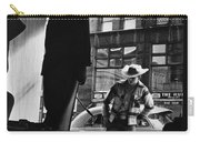 Window Shopping Cowboy Carry-all Pouch