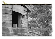 Window To Nowhere - Black And White Carry-all Pouch