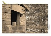 Window To Nowhere - Sepia Carry-all Pouch