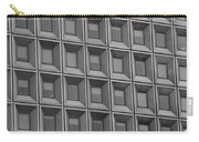 Windows In Black And White Carry-all Pouch