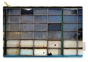 Windows In Blue Building 2 Carry-all Pouch
