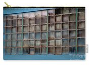 Windows In Blue Building 3 Carry-all Pouch